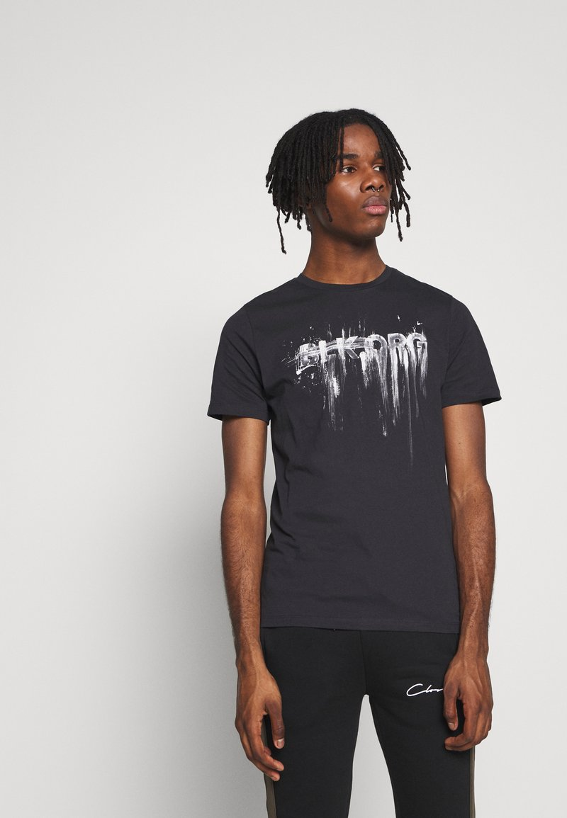 Jack & Jones - JORSOLEX CREW NECK - T-shirt print - tap shoe