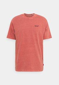Levi's® - TAB VINTAGE TEE UNISEX - T-shirt basique - marsala - 0