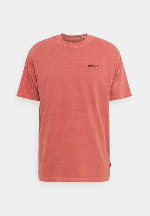 TAB VINTAGE TEE UNISEX - Basic T-shirt - marsala