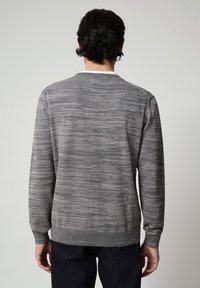 Napapijri - DUEVILLE CREW - Pullover - dark grey melange - 2
