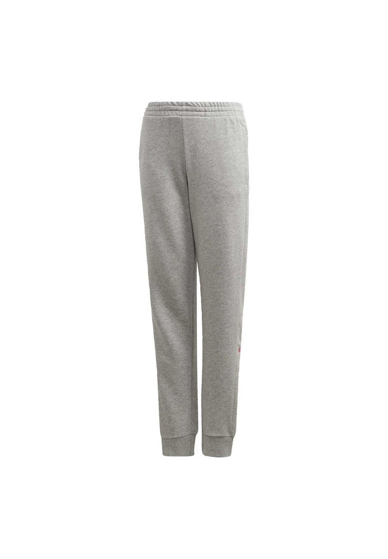 adidas Performance - LINEAR JOGGERS - Tracksuit bottoms - grey