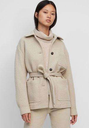 Summer jacket - winter wheat melange