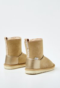 Pepe Jeans - SHINY - Winter boots - golden - 3