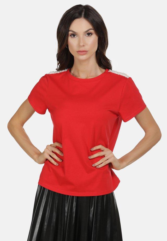 SHIRT - T-shirt z nadrukiem - rot