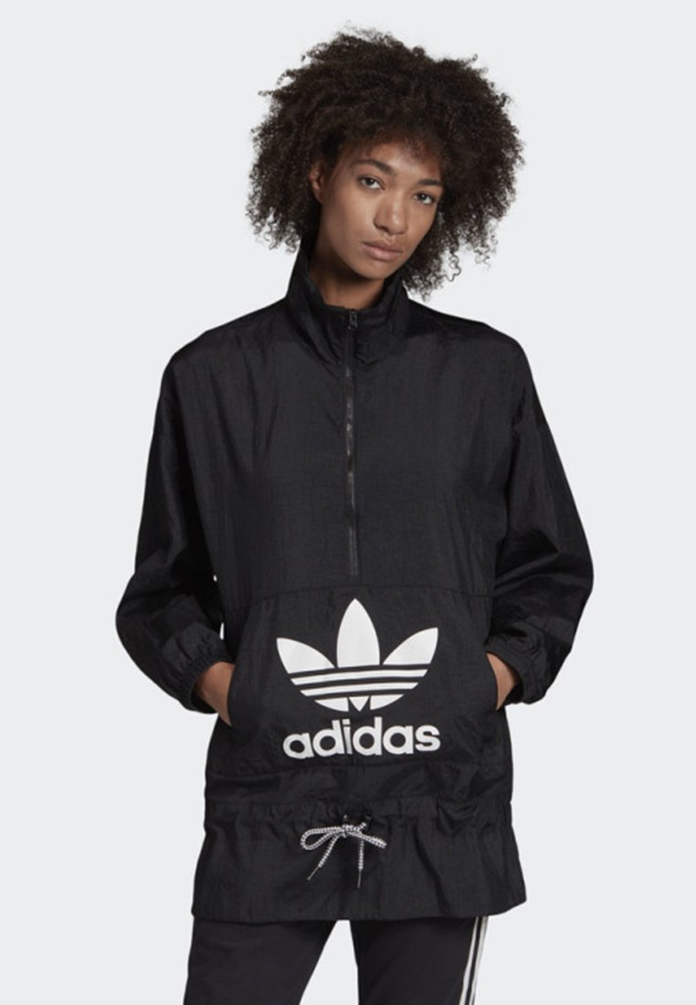 adidas Originals - WINDBREAKER - Windbreaker - black