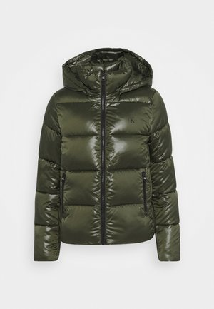 SHINY PUFFER - Winter jacket - deep depths