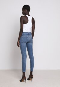 7 for all mankind - CROP - Jeans Skinny Fit - mid blue - 2