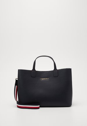 ICONIC SATCHEL - Handbag - blue