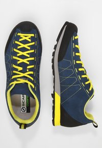 Scarpa - HIGHBALL   - Hiking shoes - ocean/bright yellow - 1