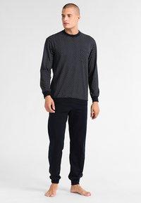 Schiesser - LANG SET - Pyjama set - dunkelblau - 0