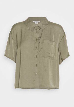 CORE SILKY - Button-down blouse - olive