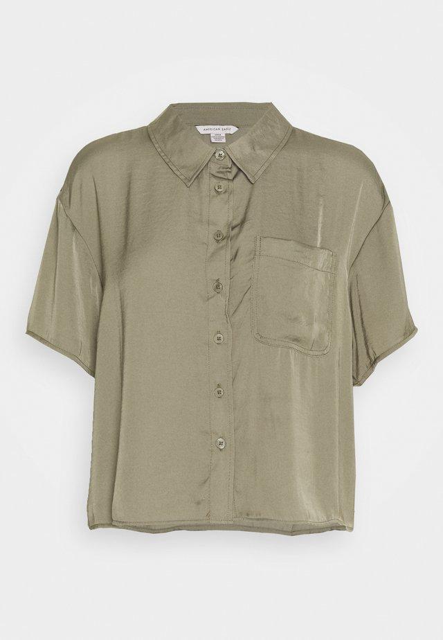 CORE SILKY - Camicia - olive