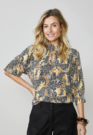 Blouse - bright ochre