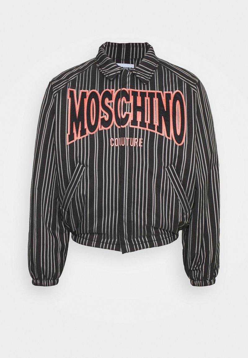 MOSCHINO - Lehká bunda - black