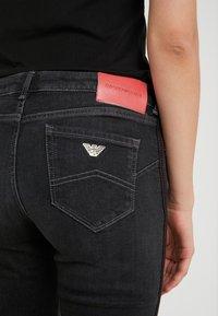 Emporio Armani - Jeans Skinny - denim nero - 5