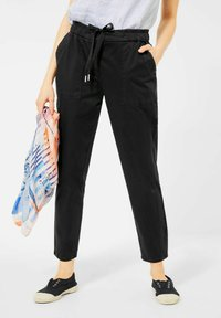 Cecil - CASUAL FIT - Tracksuit bottoms - schwarz - 0