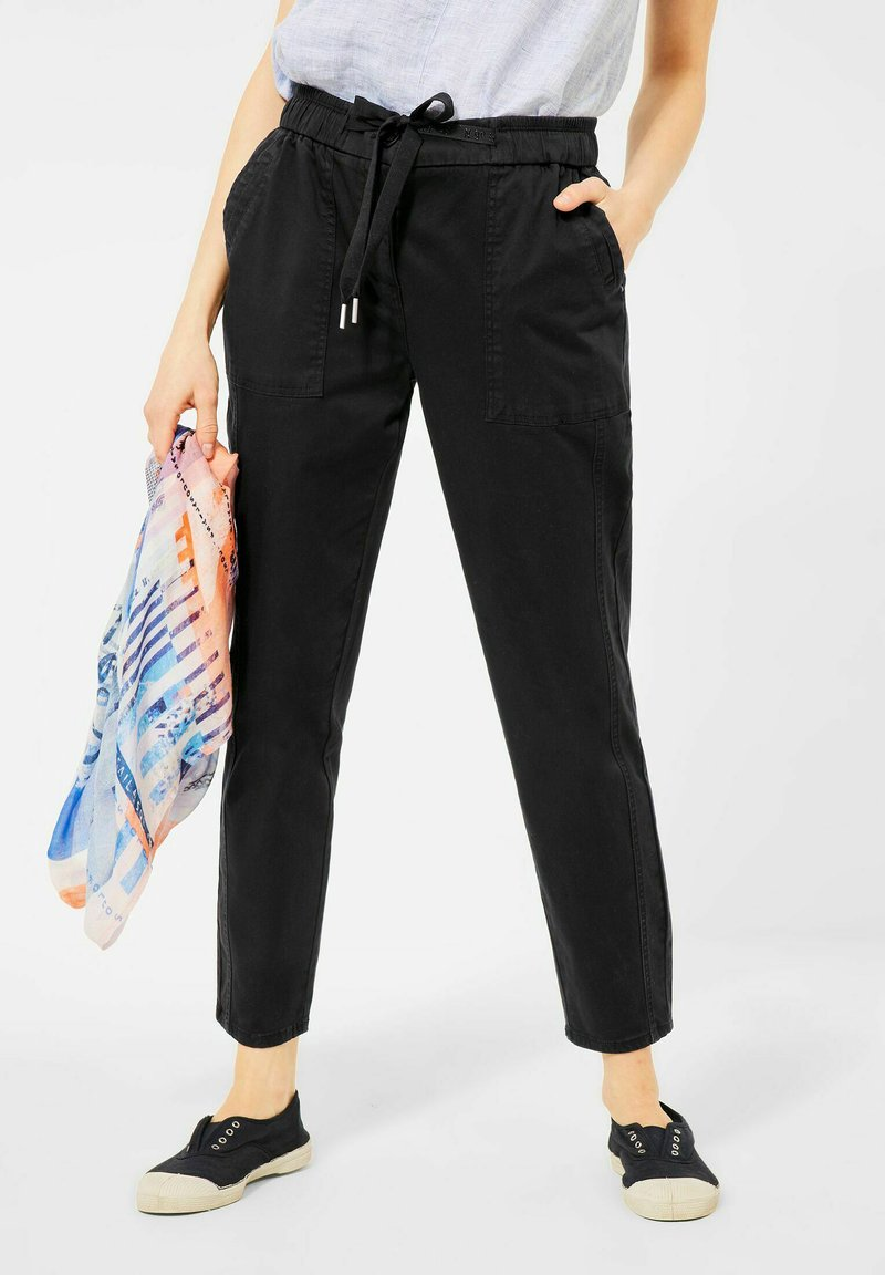 Cecil - CASUAL FIT - Tracksuit bottoms - schwarz