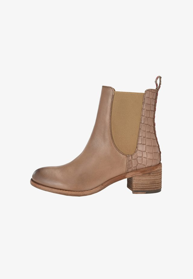 RAHEL MIT KROKO - Classic ankle boots - taupe