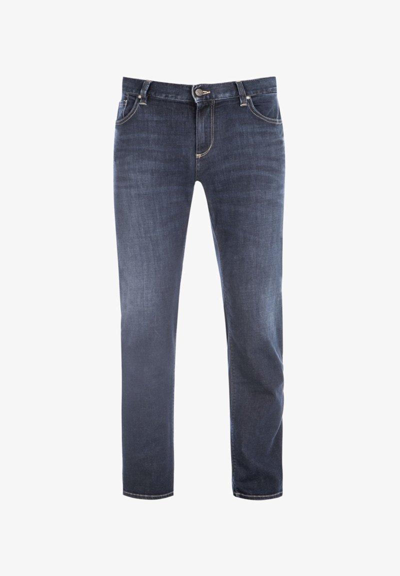 ALBERTO Pants - Slim fit jeans - dark blue