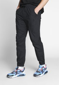 Carhartt WIP - COLTER PANT - Trousers - black/white - 0