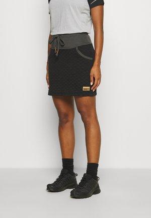 LORRAINE - Sports skirt - black
