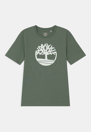 SHORT SLEEVES - Print T-shirt - green