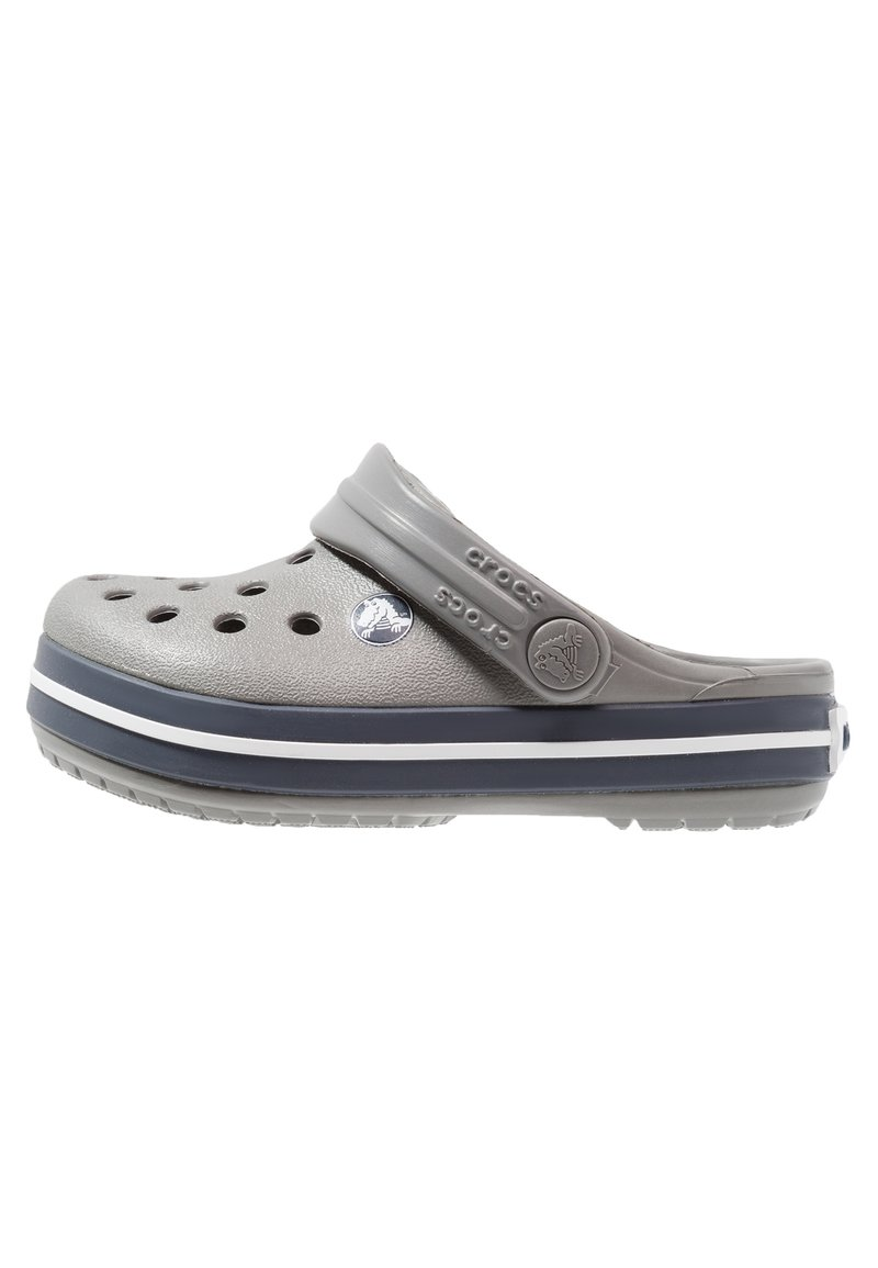 Crocs - CROCBAND - Pool slides - smoke/navy
