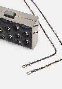 KARL LAGERFELD - IKONIK 3D PIN MINAUDIERE - Across body bag - black - 4