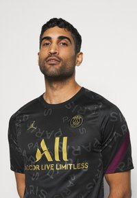 Nike Performance - PARIS ST GERMAIN DRY  - Equipación de clubes - black/bordeaux/truly gold - 3