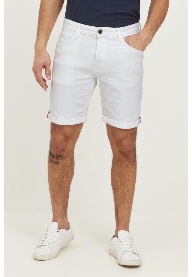 Shorts - denim white