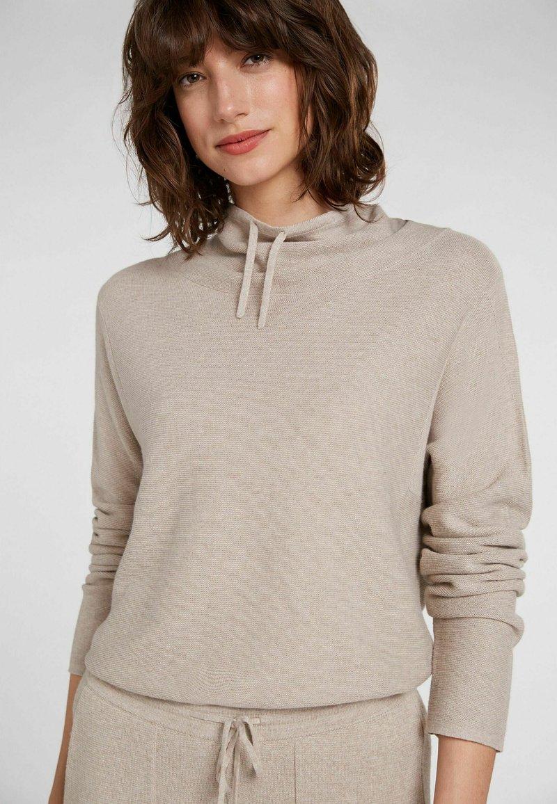 Oui - MIT - Sweatshirt - light stone