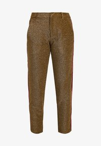 Scotch & Soda - TAPERED PANTS WITH SIDE PANEL - Kalhoty - olive - 3
