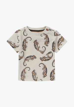 TYENNA - Print T-shirt - oatmeal