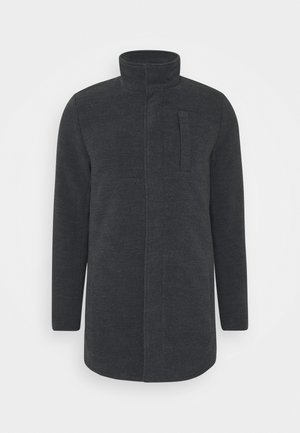 OUTERWEAR - Classic coat - charcoal mix