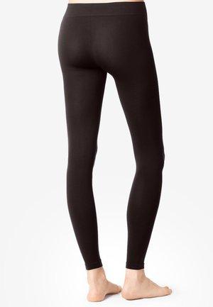 Leggings - Stockings - dark brown
