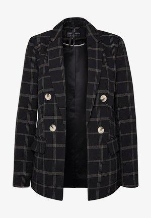 EDIT GRID CHECK - Blazer - black