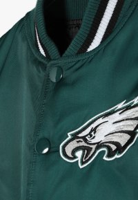 Outerstuff - NFL PHILADELPHIA EAGLES VARSITY JACKET - Sportovní bunda - sport teal/black - 4