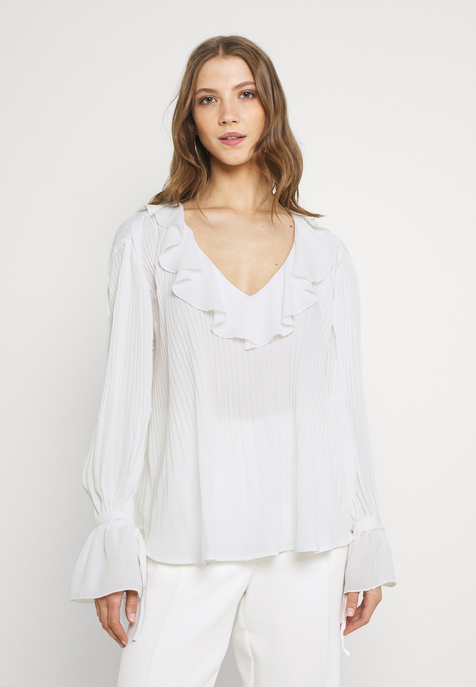 Women TIED TO YOU BLOUSE - Long sleeved top