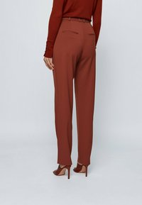 BOSS - TISLETTI - Trousers - brown - 2