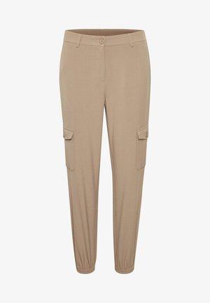 KAEDA  - Pantalon cargo - ermine
