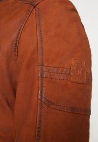 Oakwood - JAYDEN - Leather jacket - whisky - 5