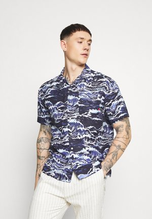 JPRRDDWAVE RESORT - Shirt - navy blazer