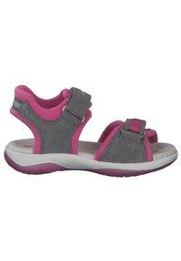 Superfit - Walking sandals - hellgrau rosa - 6