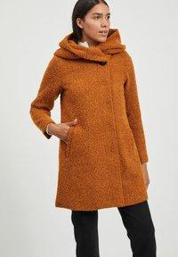 Vila - Classic coat - pumpkin spice - 0
