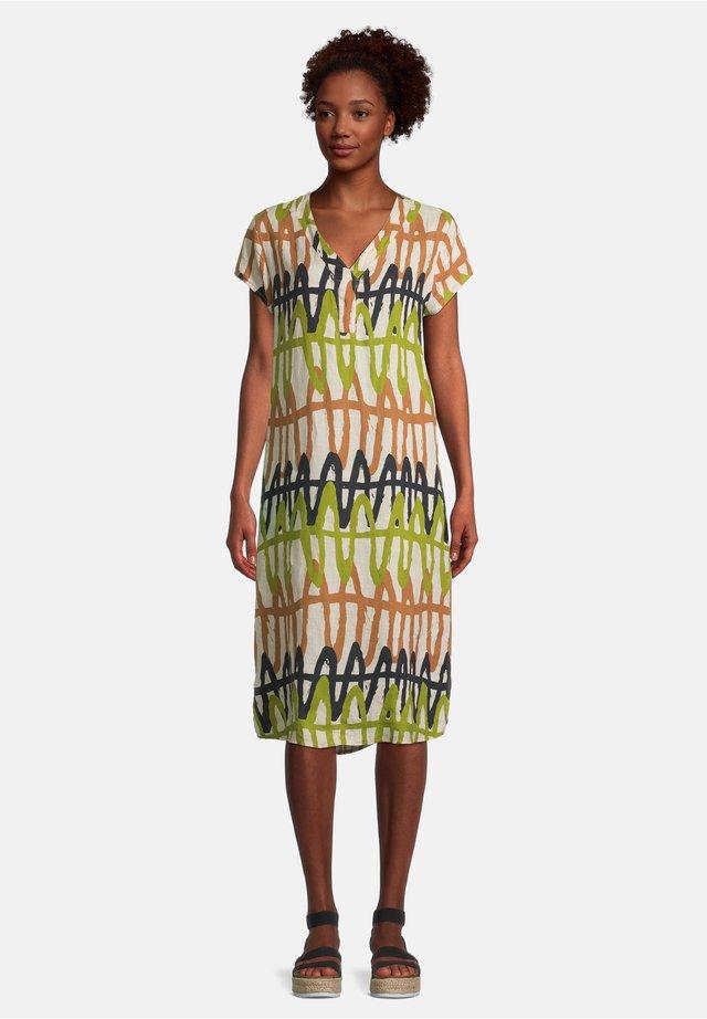 MIT MUSTER - Korte jurk - cream/khaki