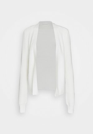 VIRIL OPEN CARDIGAN - Cardigan - white alyssum