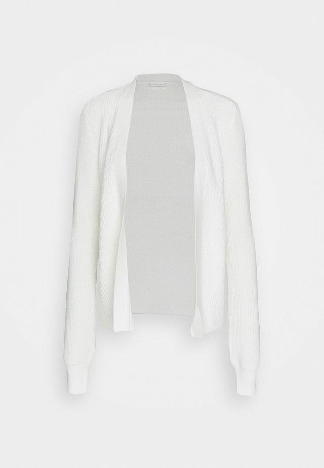 VIRIL OPEN CARDIGAN - Cardigan - white alyssum