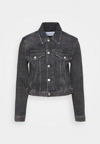 Calvin Klein Jeans - CROPPED JACKET - Denim jacket - denim grey - 5