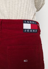 Tommy Jeans - HARPER STRAIGHT ANKLE - Trousers - wine red - 4