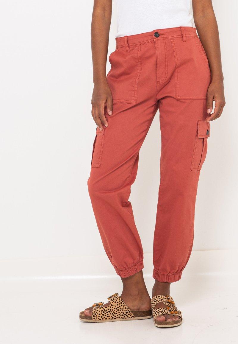 Camaïeu - Pantalon cargo - pink